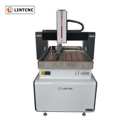 安い小型木の 3D 彫刻の切削機 6060 6090 6012 9012 9015 1212 4 軸 CNC ルータ(用回転軸付き 木製アルミニウム
