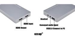 HDMI2.0 Ezcap269 Hdr à l'USB 3.0 Carte de capture vidéo jeu UVC, Live Streaming jeu Appareil Enregistreur pour PS4, XBox et Wii U.