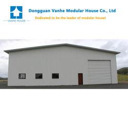 Commerce de gros mur de la pluie de cadrage de la résistance durable facile à assembler Entrepôt Bâtiments de construction en acier