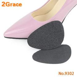 Antideslizante de caucho duraderas de tacón alto de vibración la almohadilla de pie adelante para la protección pie