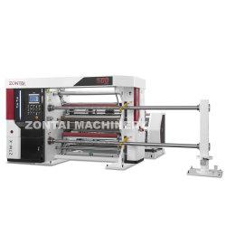 종이 필름 라미네이트 필름 유연한 포장 필름 알루미늄 호일 슬팅 기계 되감기