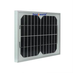 Commerce de gros personnalisé monocristallin Mono/Poly Panneau d'énergie solaire PV Module 5W 10W 15W 20W 30W 40W 50W