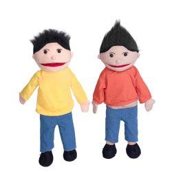 Promotion Großhandel Spiel Baby Plüsch Spielzeug Kindergarten Pädagogische Handpuppe