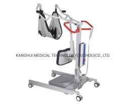 Quatre roues de l'hôpital de soins infirmiers à domicile Transfert patient permanent de l'outil de levage avec accoudoir