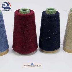 Cashmere Worsted coloridos 21-23 Merino Fios de lã para máquina a tecelagem e o tricô