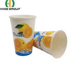 PLA покрытием соды холодные напитки одноразовые чашки бумаги для сока сок, кофе и чай