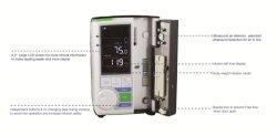 Le HSA513 Écran LCD de la pompe à perfusion IV électrique portable la pompe à perfusion