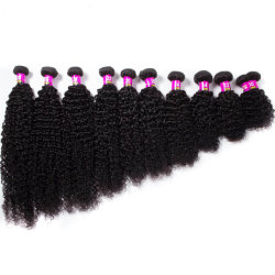 Kbeth kinky Curly Virgin Human Hair Bundle 10A GRADE Weave Wair Extensions Double Weft Brazilian Unprocessed Remy 8-30 Размер волос в дюймах