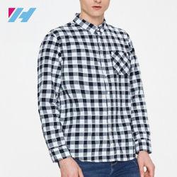 كم بسيطة عرضيّ طويل قميص سائب لأنّ رجال