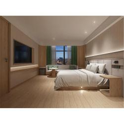 Holiday Melamina Quarto de hotel do mobiliário de madeira de carvalho Bed