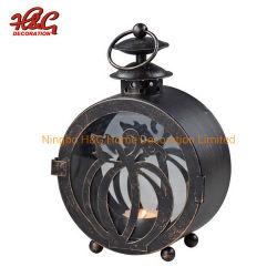Хэллоуин металла при свечах, тыквы Декор Дизайн светильника