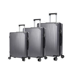 De Reeks van de Bagage van de Koffer van de Reis van de Bagage van het Karretje van het aluminium