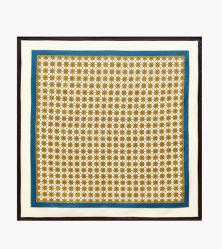 昇進の女性のためのロゴによって印刷されるカスタムデザイナー絹ポリエステル正方形のバンダナのスカーフのスカーフ