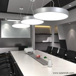 Corps en aluminium Luminaire LED du panneau ronde poignée de commande avec une bonne qualité de la lampe