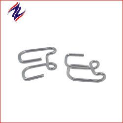 ステンレススチール製ワイヤとフラットワイヤのスプリングクリップをカスタムで用意