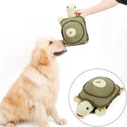 Собака Шепчущая мягкие игрушки черепаха профессиональной подготовки играют Sniff Пэт вещи игрушка для собак