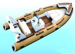Nouvelle Coque en fibre de verre ouvert la nervure de bateaux d'Orca hypalon ou tube PVC pour la pêche ou turing