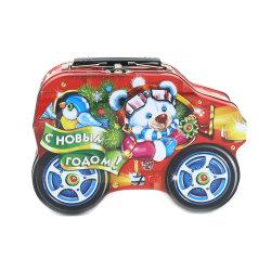 Spielzeug-Metallgeschenk-Zinn-Kasten für Weihnachten