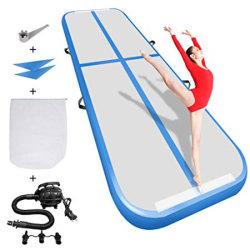 De Lucht van de gymnastiek volgt de Waterdichte Slip Opblaasbare Mat van de Yoga van de Oefening