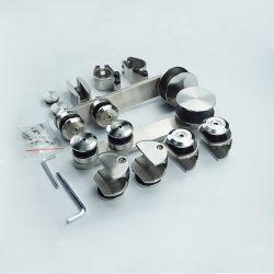 De aangepaste OEM ODM Hardware Van uitstekende kwaliteit van het Roestvrij staal van de Deur van de Douche van de Badkamers van de Verkoper van de Toebehoren van de Deur van het Glas Glijdende