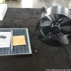 60W (30W+30W) de 12 pulgadas de trabajo sin interrupciones de energía solar Ático Gable Ventilador (SN2013014)