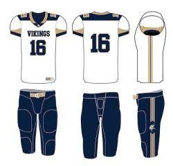 Impression en sublimation personnalisé de vente chaude American football maillot de football rugby uniforme Jerseys