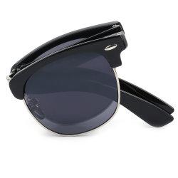 Occhiali da sole pieghevoli Classic con struttura quadrata Unisex Fashion