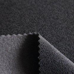 Композитный материал верхней части нейлоновые&спандекс Warp вязки против ткань с щеткой из полиэфирного волокна 440GSM для спортивной одежды/одежды/одежды/Одежда/Activewear
