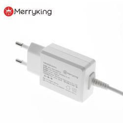 Kc Kcc certificado 110-240 VAC Adaptador de alimentación Switching 16V 800mA 500mA Ek Adaptador de montaje en pared