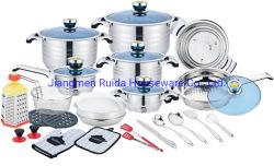 台所機器、台所用品、台所道具、ステンレス鋼の調理器具セット、調理器具