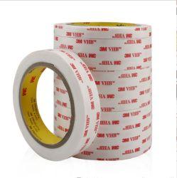 3m Vhb 4950 de doble cara de espuma acrílica de color blanco de 1,1 mm de cinta para metal