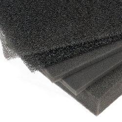Filtro de aire de la porosidad de esponja reticulada de espuma de poliéter de espuma de filtro de 10ppp-60ppp
