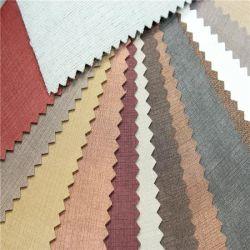 جلد PVC صناعي رائع للأثاث الساتان