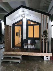 現代デザインライト小さい家の動産のホテルのための鋼鉄別荘の家