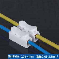 CH2 che preme blocchetto terminali per il LED che illumina il connettore rapido del collegare del cavo di Pin di bianco 2/3