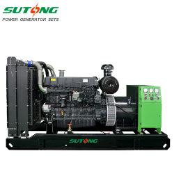 50Hz Shangchai 300KW de puissance 12V135azd 375kVA Groupe électrogène Générateur Diesel avec système de l'alternateur Stamford AVR