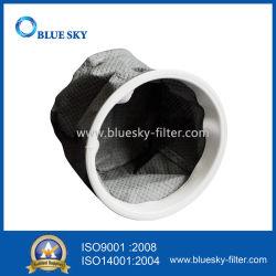 De grijze Vervangstukken van de Zak van de Katoenen SMS Filter van het Stof met de Cirkel van het Metaal voor Tristar 70201 Stofzuiger