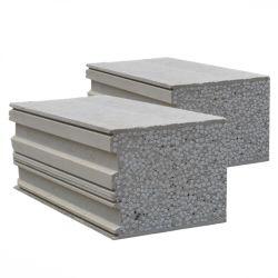 絶縁コンクリートサンドイッチ圧縮パネル壁