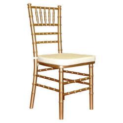 Hotel mayorista de muebles de madera apilables Sillas Chiavari sillas Tiffany