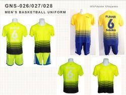 Homens Multi-Color personalizado da Poli/Spandex Sportswear Desgaste de esportes da unidade de basquete