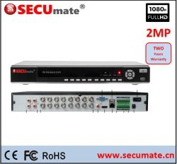 16 O Canal 5 em 1 Ahd Tvi Cvi Xvr IP CCTV DVR Digital Video Recorder