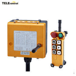 FCCおよびセリウムは電気機器および機械装置のための6つの押しボタン信頼できる産業無線のリモート・コントロールF26-C1を証明した