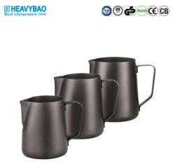 Heavybao Multi-sizes Color Espresso Koffie Latte Metal 304 roestvrij staal Opschuimen opschuimen kleine kan voor de opschuimende beker met melkschuim