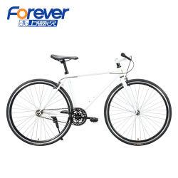 Навсегда P12 700c односкоростной взрослых из высокоуглеродистой дорожного велосипеда велосипед