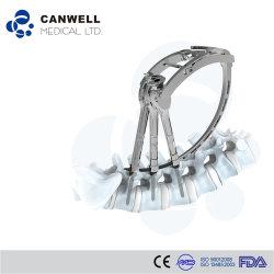 Médico Canwell minimamente invasiva da coluna vertebral toracolombar posterior do sistema de fixação do instrumento de implantes de parafuso do pedículo percutânea com marcação, ISO e FDA
