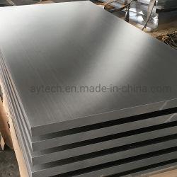 3003 5052 5754 6061 personalizados de aleación de aluminio de temperamento/lámina de aluminio/Plain Flat/placa de aluminio de metal de alta calidad procedentes de China fábrica con los requisitos personalizados