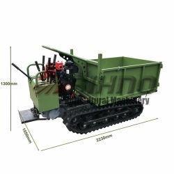 زيت Plam Plantation شاحنة هيدروليكية Dumper 0,6 طن 0,8 طن 1.2طن 1.5 طن 2 طن كراولر كارير ميني دومبر