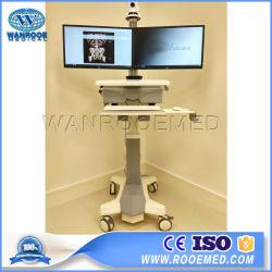 Bwt-006 больничного оборудования мобильные системы телемедицины медицинская рабочая станция передвижной Crash тележки
