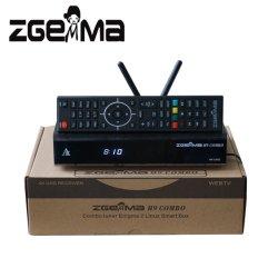 De Steun Kodi Ci+ HDD van de Ontvanger Combo van Combo dvb-S2X dvb-T2/C 4K UHD van Zgemma H9