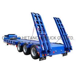Низкое мальчик прицеп/ 40 тонн тяжелого грузового прицепа/ низкая кровать погрузчик прицепа